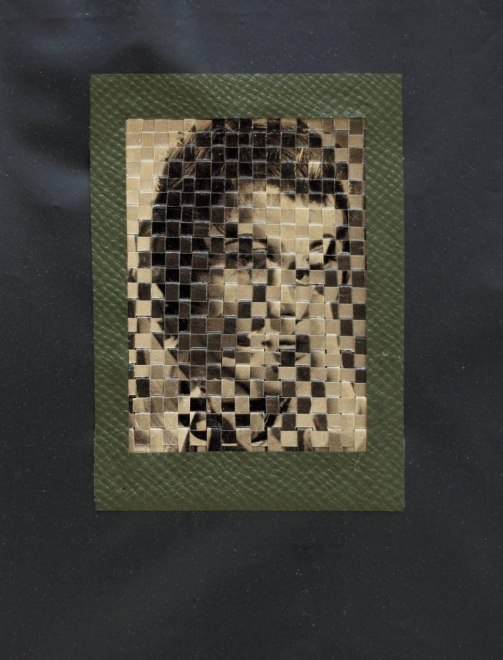Androgün II. 2019. cuted photos rubbist bag 29 x 22 cm