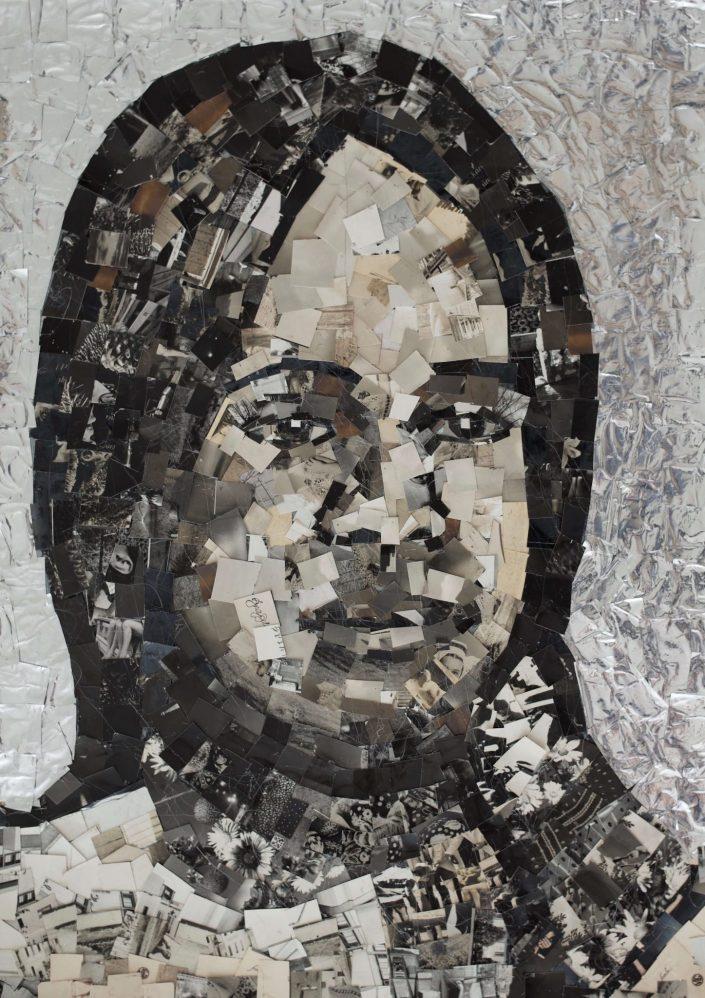 Bina 48.2019. vintage photo on paper 56 x 40 cm