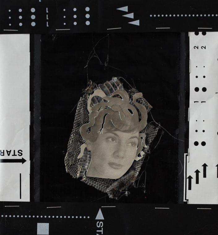 Medusa 2019. mixed technicon rubbish bag